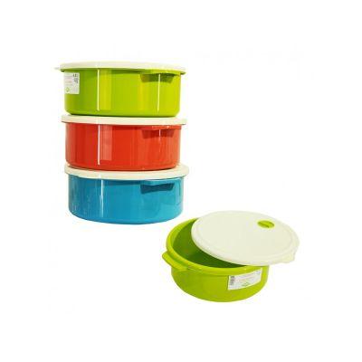 Емкость для хранения продуктов пластиковая QUELLA, 2,75л, TM Bager