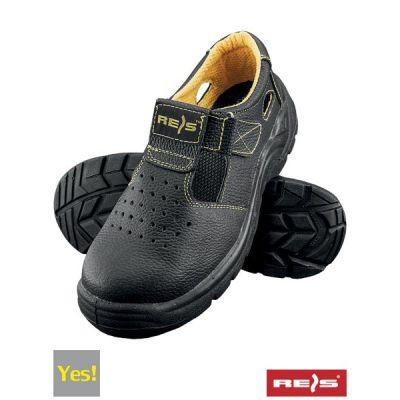 Профессиональные защитные рабочие сандали с металлическим носком REIS BRYES-S-SB