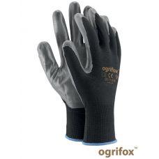 Перчатки защитные из полиэстера, покрытые полиуретаном OGRIFOX OX.13.656 NITRICAR