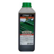 Биозащита, антисептик-антижук для древесины Страж-3 (концентрат)