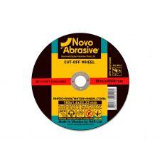 Круг отрезной для металла (по металлу) Novoabrasive