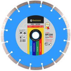 Круг алмазный отрезной BAUMESSER Beton Pro 1A1RSS/C3 230 x 22.22 Сегментный (94315008017)