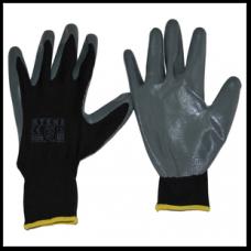 Перчатки рабочие Rteni покрытые нитрилом