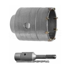 Комплект: сверло корончатое по бетону 105 мм + переходник SDS Plus 100 мм INTERTOOL SD-7105