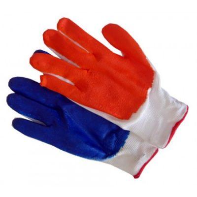 Перчатки стрейчевые синие