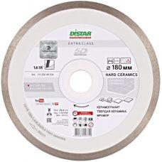 Круг алмазный отрезной DISTAR Hard ceramics 1A1R 180 x 25.4 Сплошной (11120048014)