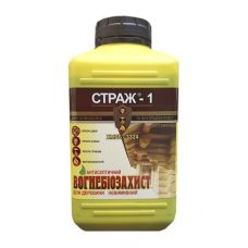 Огнебиозащита для дерева СТРАЖ-1