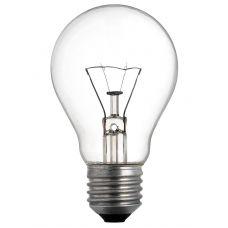 Лампа ЛЗП А50, Е27 прозрачная Искра