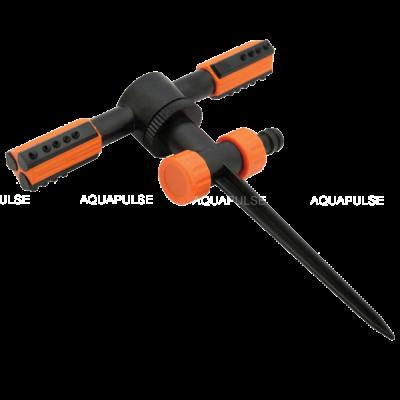 Ороситель 2-х рожковый Duo на пластиковой ножке Aquapulse AP 3007
