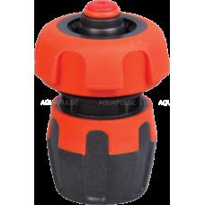 """Коннектор пластиковый с аквастопом 3/4"""" Aquapulse LX 1005R"""