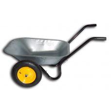 Тачка садовая двухколесная 70 л 130 кг BudMonster 01-003