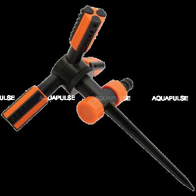 Ороситель 3-х рожковый Trio на пластиковой ножке Aquapulse AP 3008