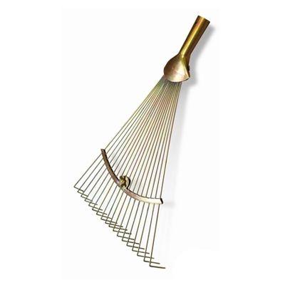 Грабли веерные металлические прутковые с регулировкой ширины