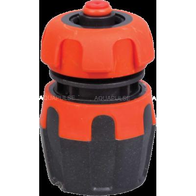 """Коннектор пластиковый с аквастопом 1/2"""" - 5/8"""" Aquapulse LX 1003Rb"""