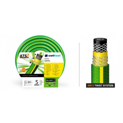 Шланг для полива GREEN ATS 1/2 50 м Cellfast 15-101