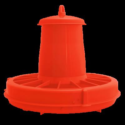 Кормушка для птиц 36,5*30 см 5 л (красный) Алеана 122088