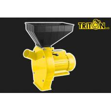 Зернодробилка (кормоизмельчитель) TRITON-tools TКЭ-1 (зерно + кукуруза)