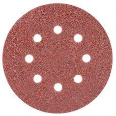 Шлифовальный круг 8 отверстий Ø125 мм P40 (10шт) Sigma 9122631