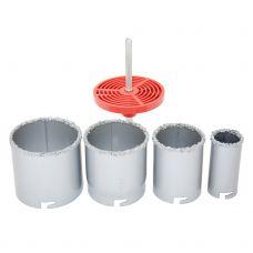 Коронки кольцевые с вольфрамовым напылением Ø33; 53; 67; 73 мм Sigma 1512051