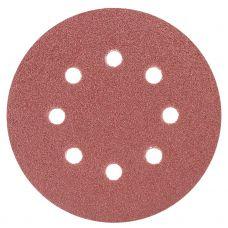 Шлифовальный круг 8 отверстий Ø125 мм P60 (10шт) Sigma 9122641