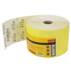 Шлифовальная бумага, рулон 115ммх50м P150 Sigma 9114281