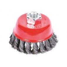 Щетка стальная чашеобразная (для УШМ, Ø22.2 мм) Ø75 мм Sigma 9026071