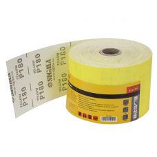 Шлифовальная бумага, рулон 115ммх50м P180 Sigma 9114291