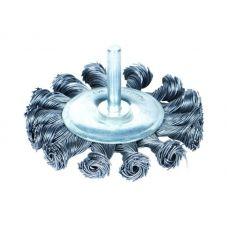 Щётка стальная дискообразная (для дрели, Ø6 мм) Ø100 мм Sigma 9023101