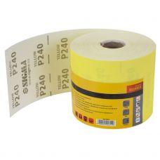 Шлифовальная бумага, рулон 115ммх50м P240 Sigma 9114311