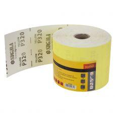 Шлифовальная бумага, рулон 115ммх50м P320 Sigma 9114331