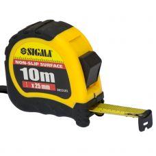 Рулетка shiftlock 10м*25мм Sigma 3815101