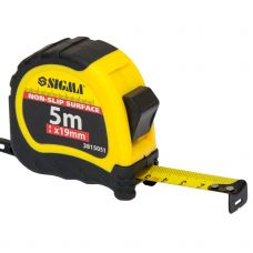 Рулетка shiftlock 5м*19мм Sigma 3815051