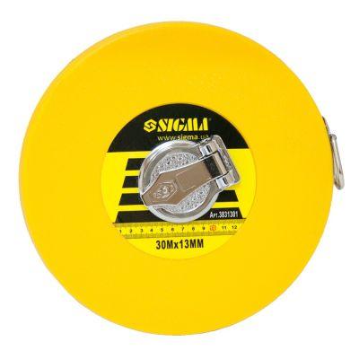 Рулетка тряпичная 30м*13мм (стекловолокно) Sigma 3831301