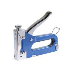 Степлер с регулятором для скоб 4-14 мм (синий) Sigma 2821011