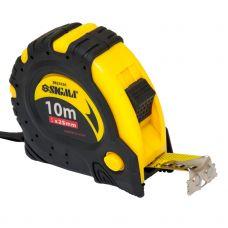 Рулетка магнитная автостоп и тормоз 10м*25мм Sigma 3823101