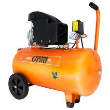Компрессор одноцилиндровый 1.5 кВт 196 л/мин 8 бар 50л Grad 7043525