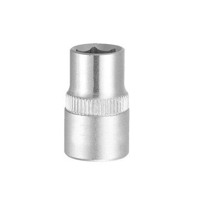 Насадка шестигранная короткая ½ 10 мм CrV mid Sigma 6071101