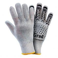 Перчатки трикотажные с точечным ПВХ покрытием Grad 9442715
