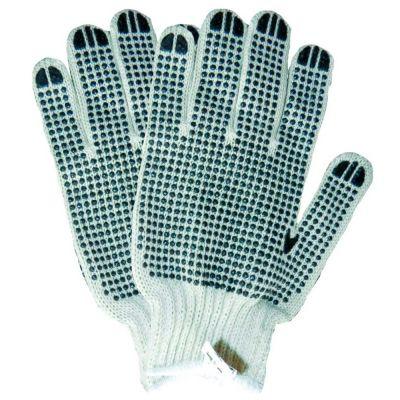 Перчатки трикотажные с точечным ПВХ покрытием (двусторонний манжет) Sigma 9221031