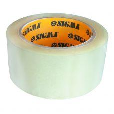 Скотч упаковочный прозрачный 45мм*100м Sigma 8401231