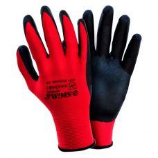 Перчатки трикотажные с нитриловым покрытием (манжет) Sigma 9443481