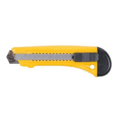 Нож, корпус пластиковый, лезвие 18 мм автоматический замок (усиленный) Sigma 8213021
