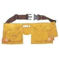 Пояс слесарный кожаный 11 карманов Grad 9450765
