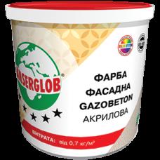 Краска фасадная акриловая ANSERGLOB Gazobeton