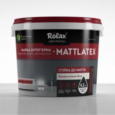 Краска акриловая Матлатекс