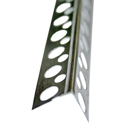 Угол перфорированный аллюминиевый 2.5 м
