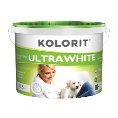 Краска матовая Kolorit Ultrawhite