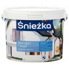 Акриловая краска для фасадов Śnieżka Standart Fasad 14 кг