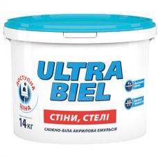 Матовая краска водоэмульсионная для внутренних работ Śnieżka Ultra Biel 7 кг