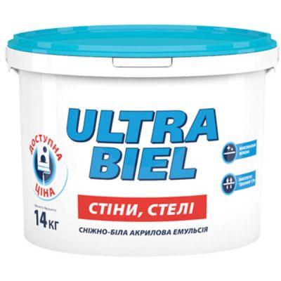 Матовая краска водоэмульсионная для внутренних работ Śnieżka Ultra Biel 20 кг